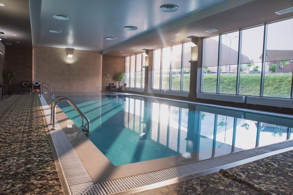 Residential swimming pool dehumidifers